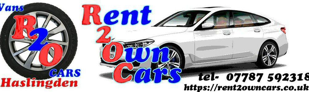 Rent 2 Own cars Rawtenstall
