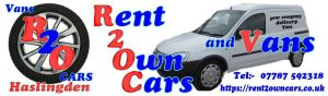 Rent2own cars and vans Rossendale