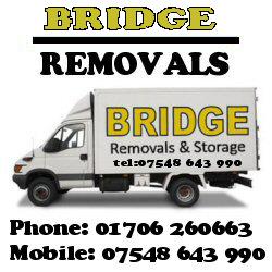 Bridge removal Haslingden