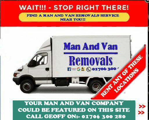Rank and rent Man And Van Locations