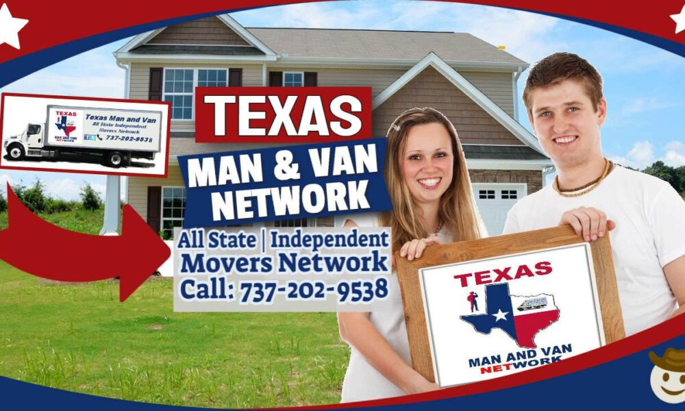 Texas Man and Van Locations Picker