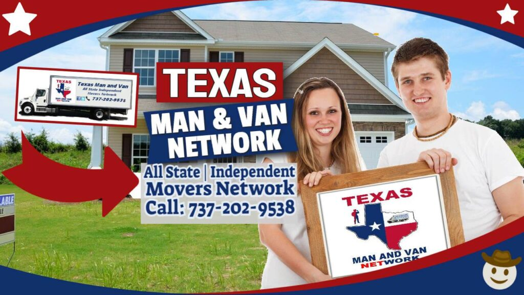 Texas Man and Van Locations Picker